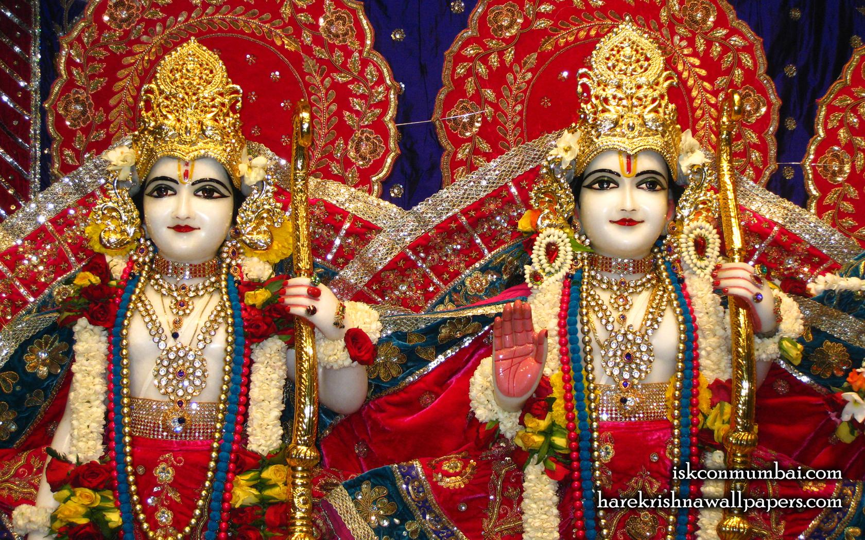 Sri Sri Rama Laxman Close up Wallpaper (002) Size 1680x1050 Download