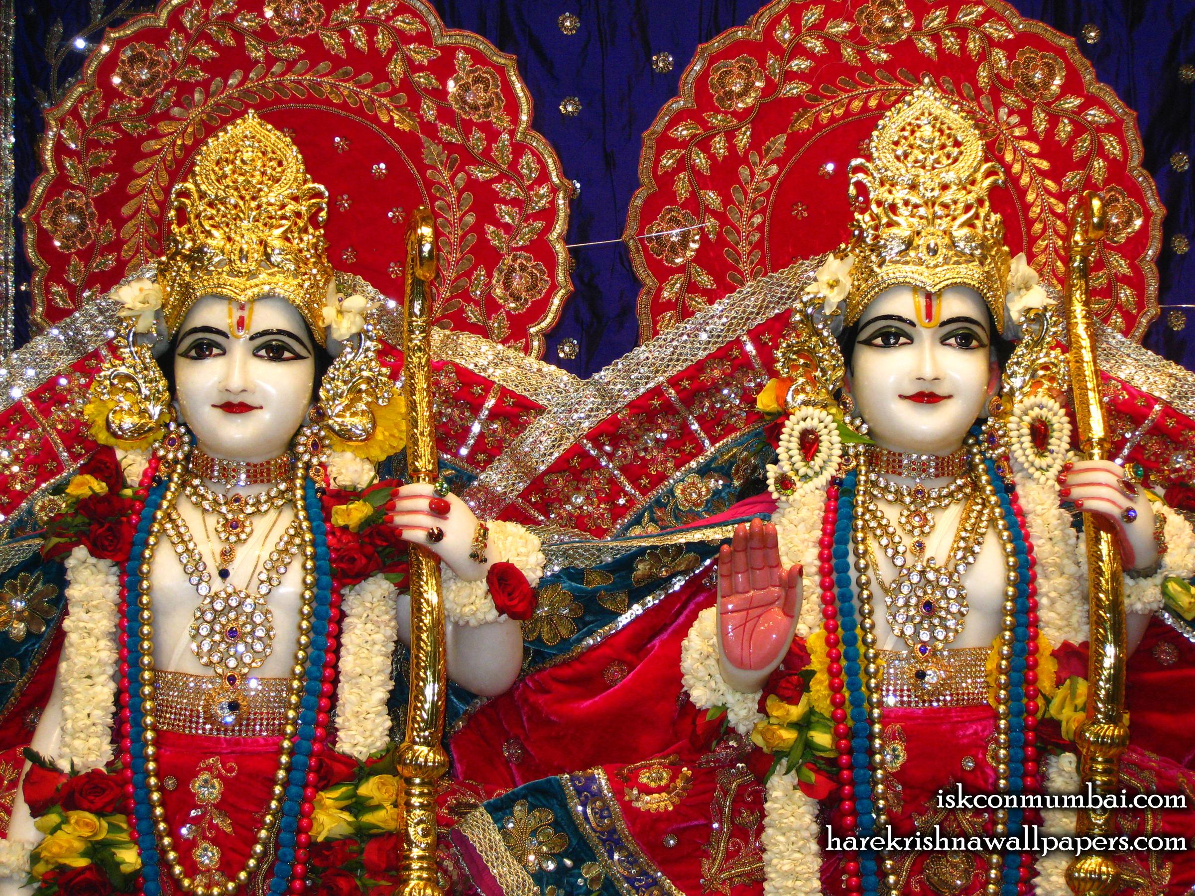 Sri Sri Rama Laxman Close up Wallpaper (002) Size 2400x1800 Download