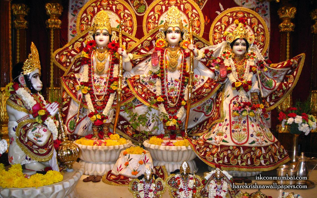 Sri Sri Sita Rama Laxman Hanuman Wallpaper (002) Size 1280x800 Download
