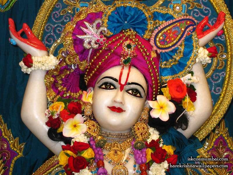 Sri Gauranga Face Wallpaper (003)
