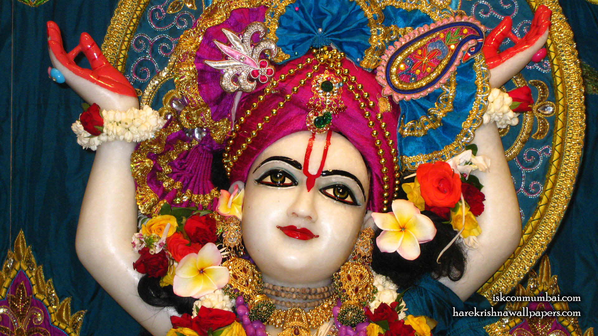 Sri Gauranga Face Wallpaper (003) Size 1920x1080 Download