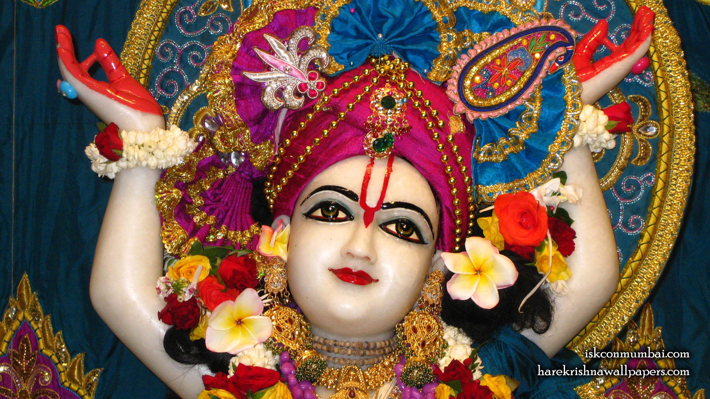 Sri Gauranga Face Wallpaper (003) Size 2400x1350 Download