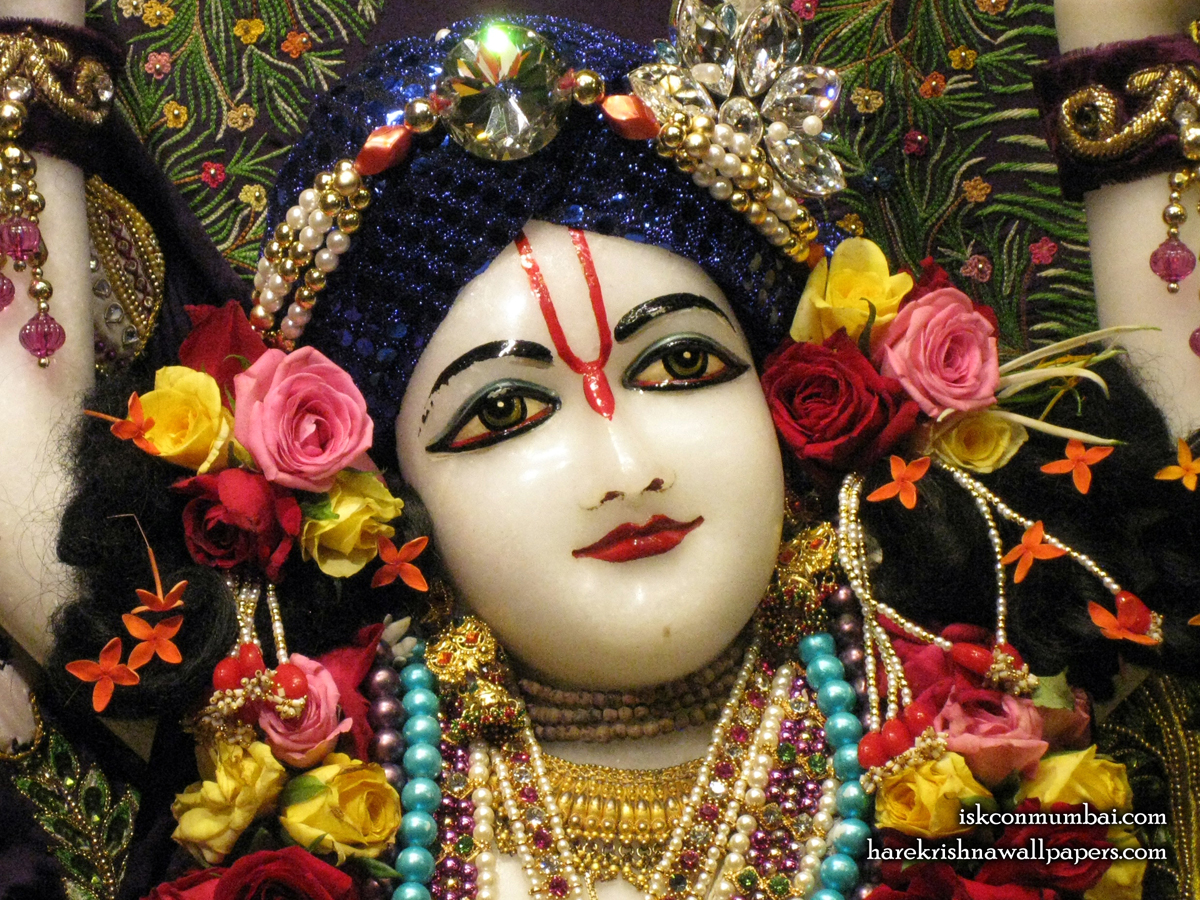 Sri Nitai Face Wallpaper (003) Size1200x900 Download