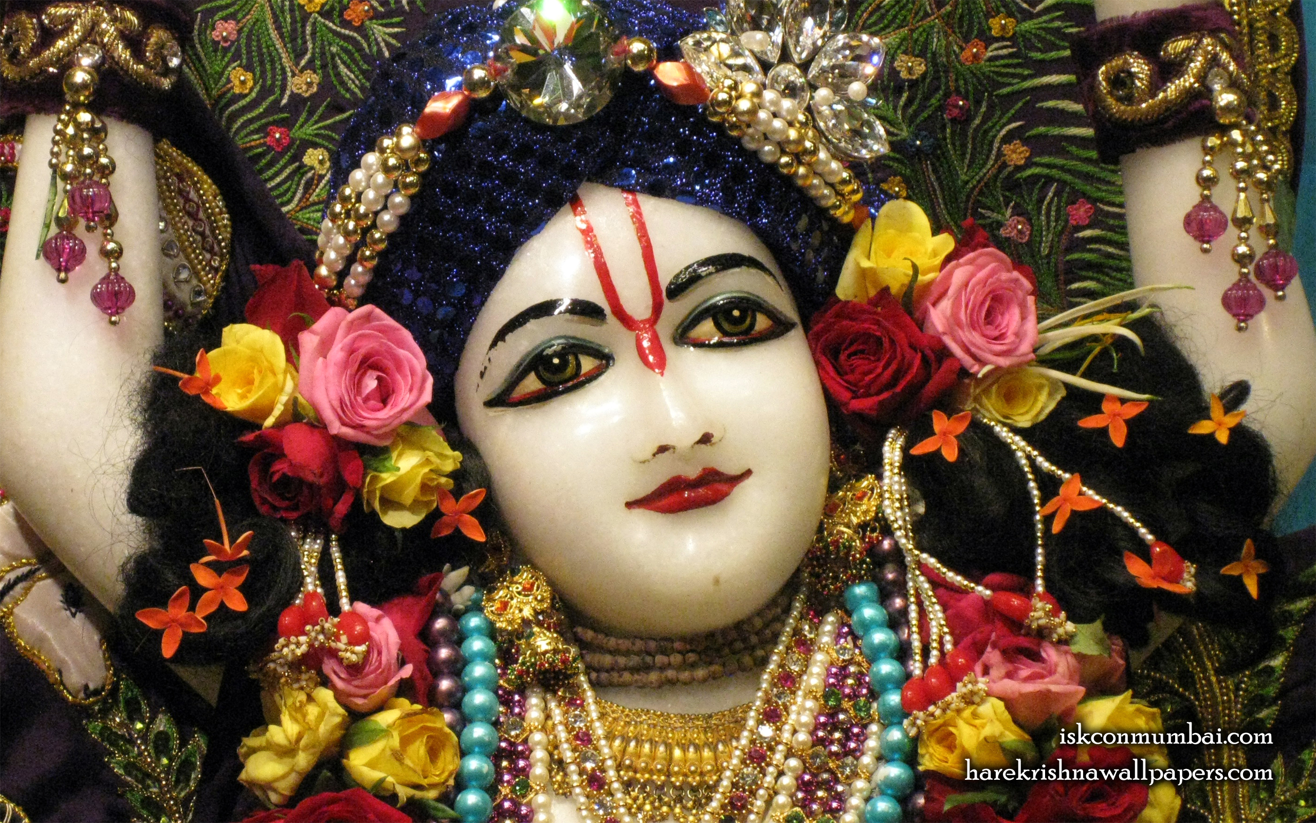 Sri Nitai Face Wallpaper (003) Size 2560x1600 Download