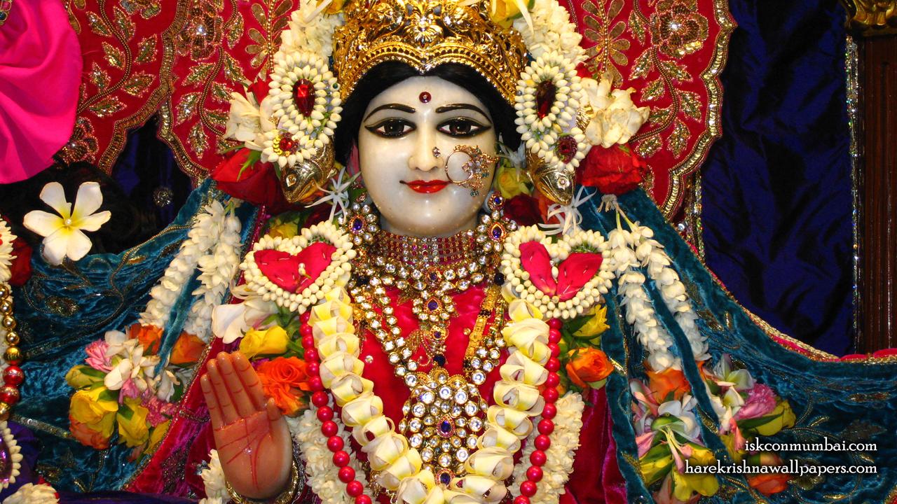 Sri Radha Face Wallpaper (003) Size1280x720 Download