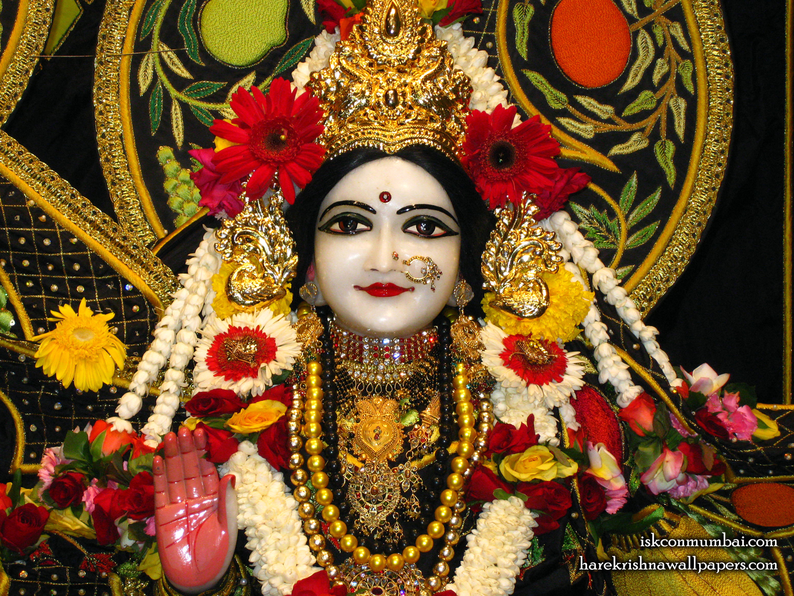 Sri Sita Close up Wallpaper (003) Size1600x1200 Download