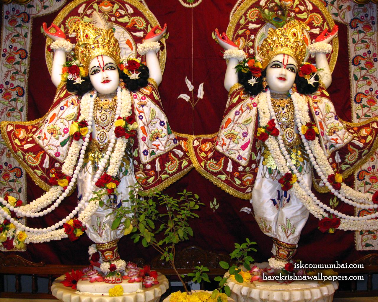 Sri Sri Gaura Nitai Wallpaper (003) Size 1280x1024 Download