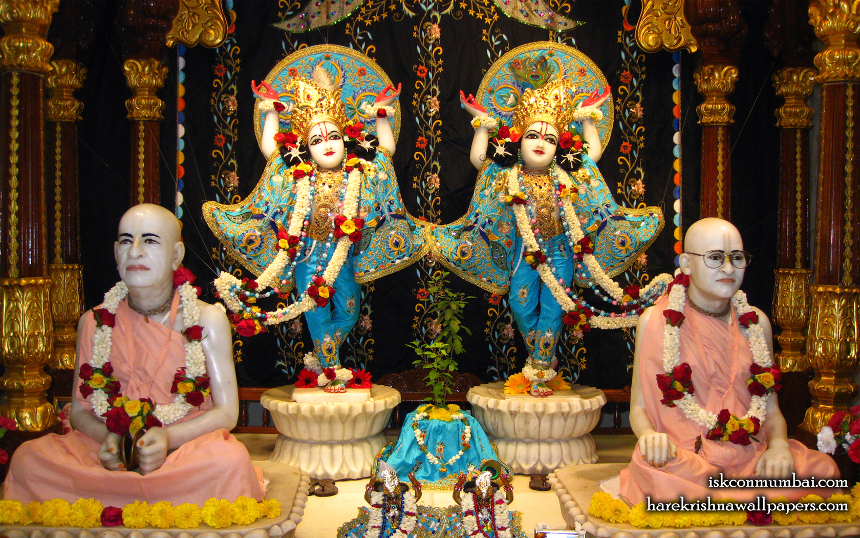 Sri Sri Gaura Nitai Wallpaper (003) Size 1680x1050 Download
