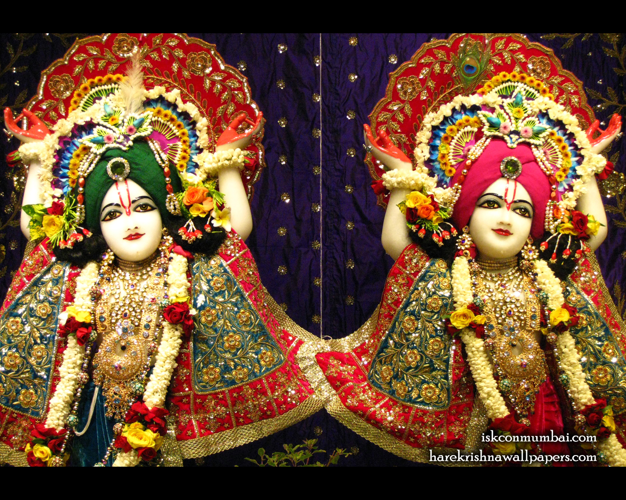 Sri Sri Gaura Nitai Close up Wallpaper (003) Size 1280x1024 Download
