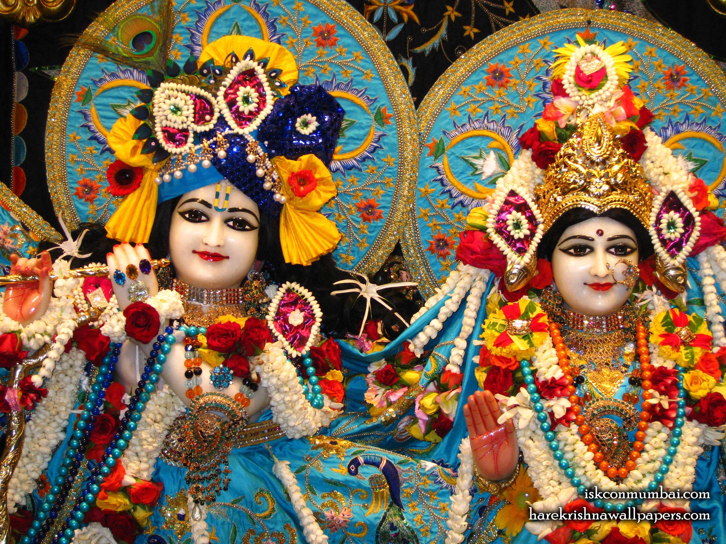 Sri Sri Radha Rasabihari Close up Wallpaper (003) Size 2400x1800 Download