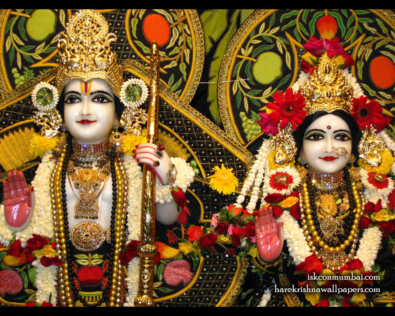 Sri Sri Sita Rama Close up Wallpaper (003) Size 1280x1024 Download