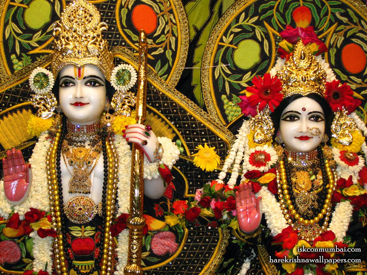 Sri Sri Sita Rama Close up Wallpaper (003) Size 1280x960 Download
