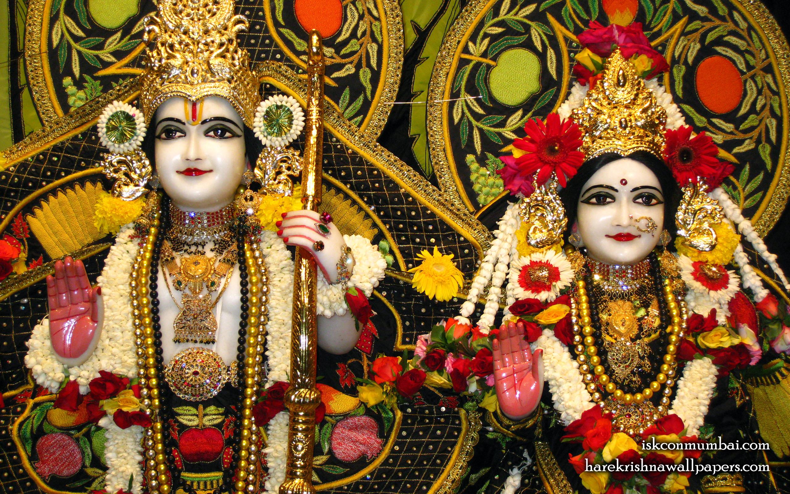 Sri Sri Sita Rama Close up Wallpaper (003) Size 2560x1600 Download