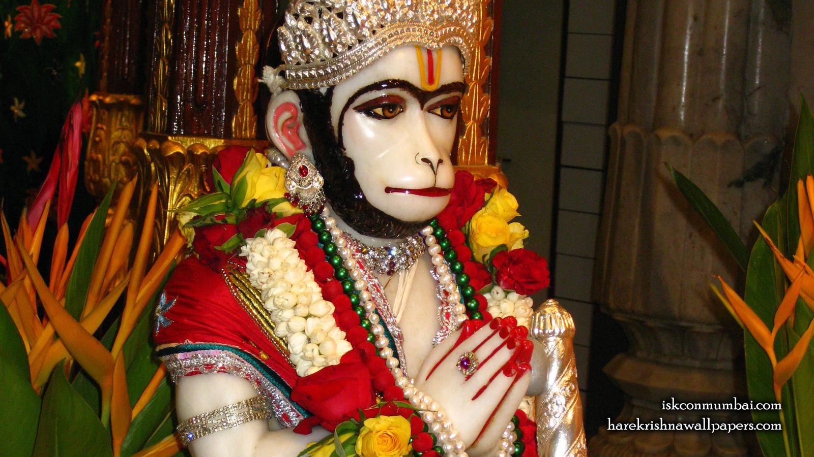 Sri Hanuman Face Wallpaper (004) Size 1600x900 Download