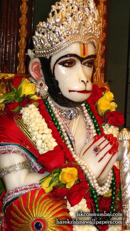 Sri Hanuman Face Wallpaper (004) Size 450x800 Download