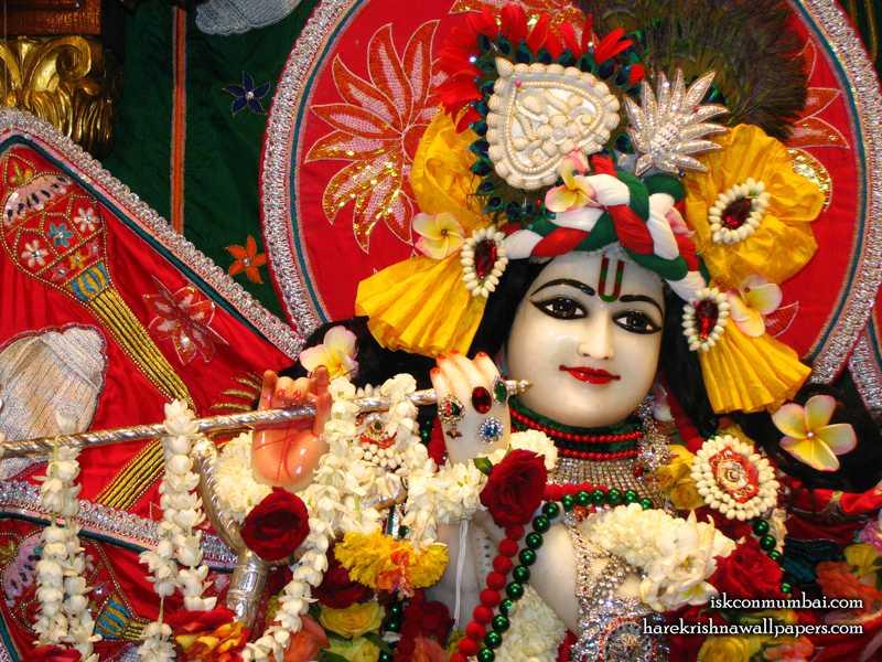 Sri Rasabihari Face Wallpaper (004)