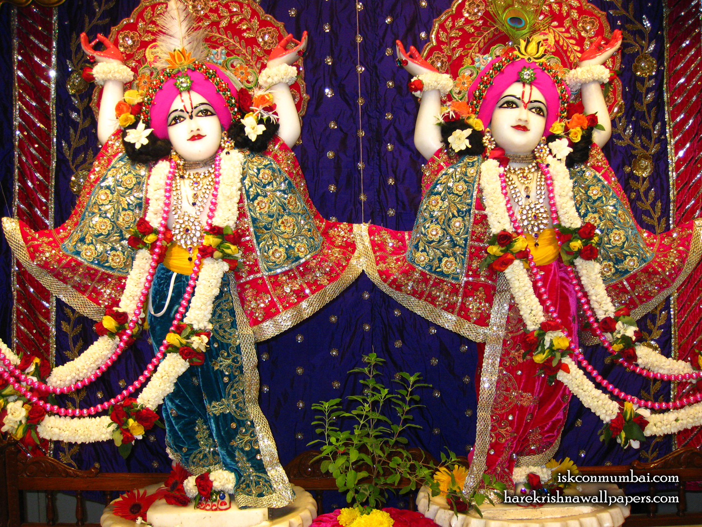 Sri Sri Gaura Nitai Wallpaper (004) Size 1400x1050 Download