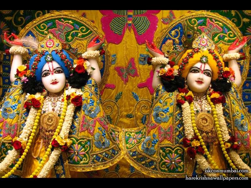 Sri Gaura Nitai Close up Wallpaper (004)