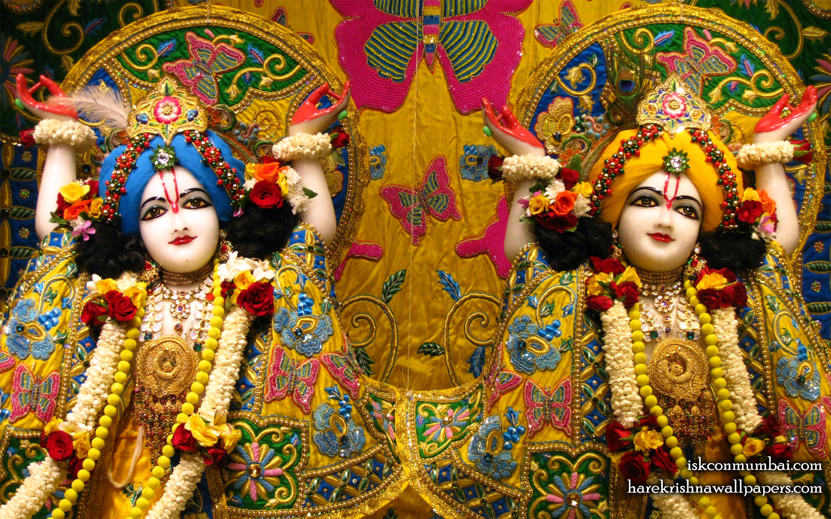 Sri Sri Gaura Nitai Close up Wallpaper (004) Size 1680x1050 Download