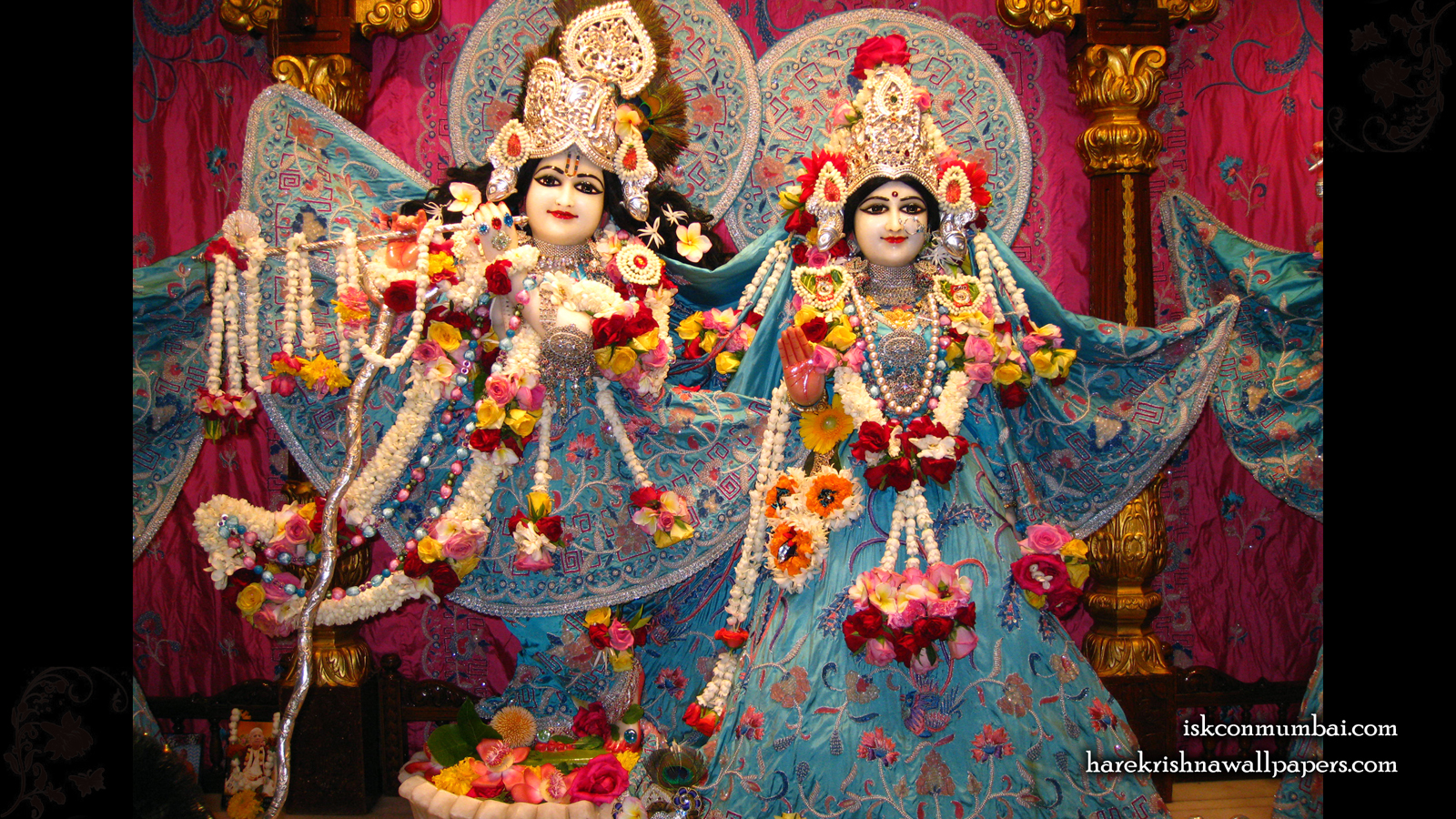 Sri Sri Radha Rasabihari Wallpaper (004) Size 1600x900 Download