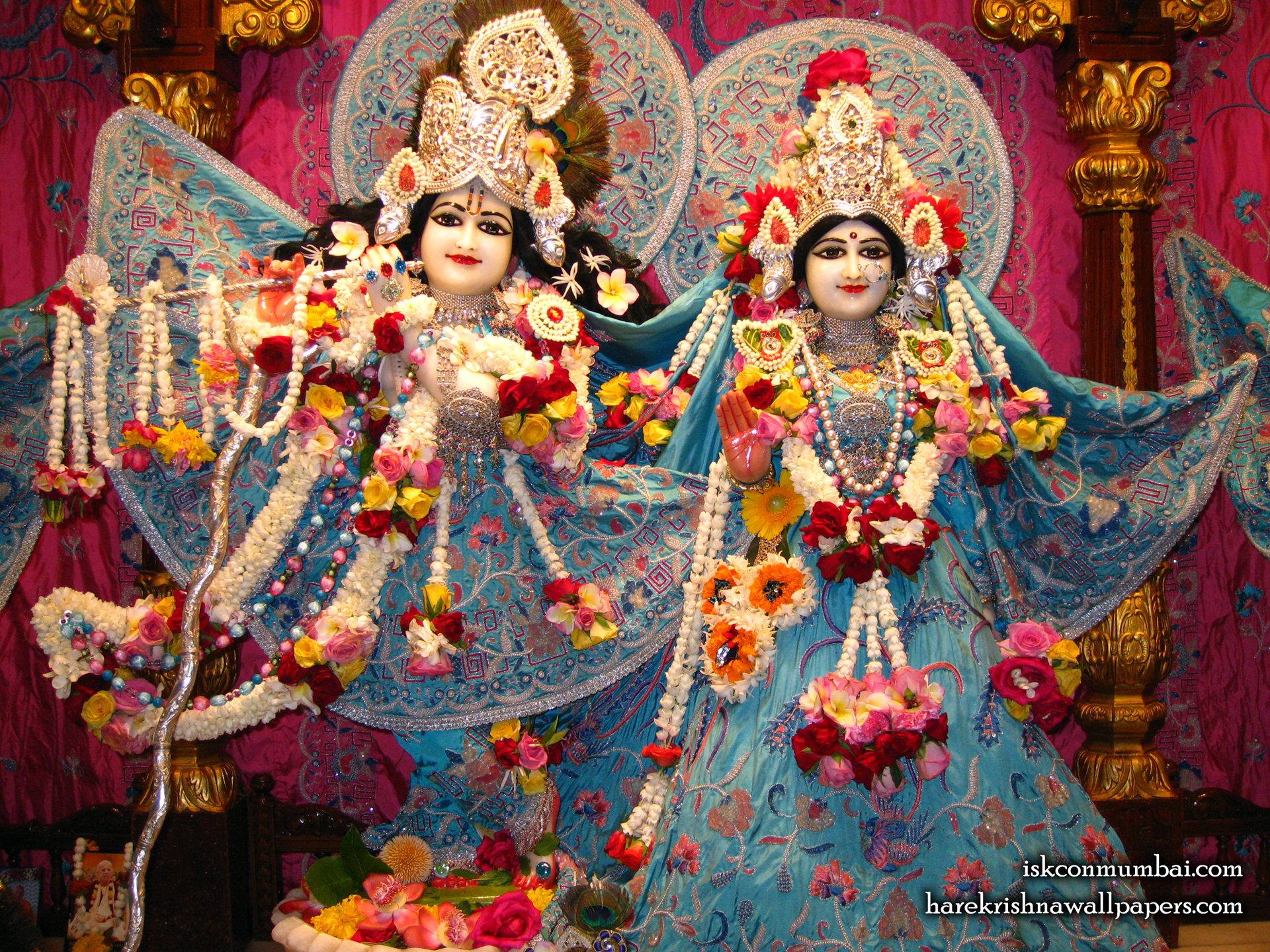 Sri Sri Radha Rasabihari Wallpaper (004) Size 1920x1440 Download