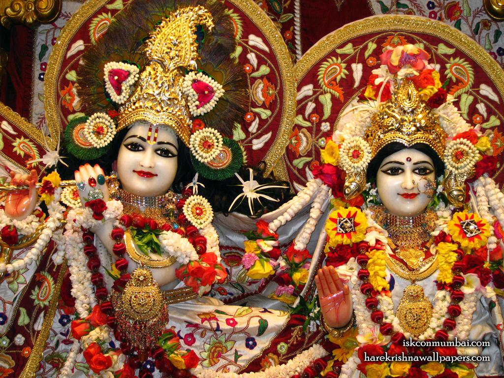 Sri Sri Radha Rasabihari Close up Wallpaper (004) Size 1024x768 Download