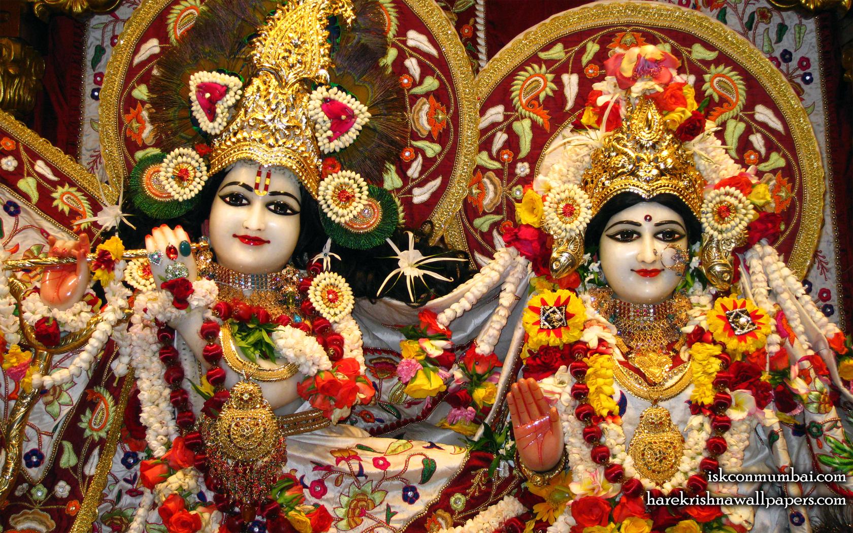 Sri Sri Radha Rasabihari Close up Wallpaper (004) Size 1680x1050 Download