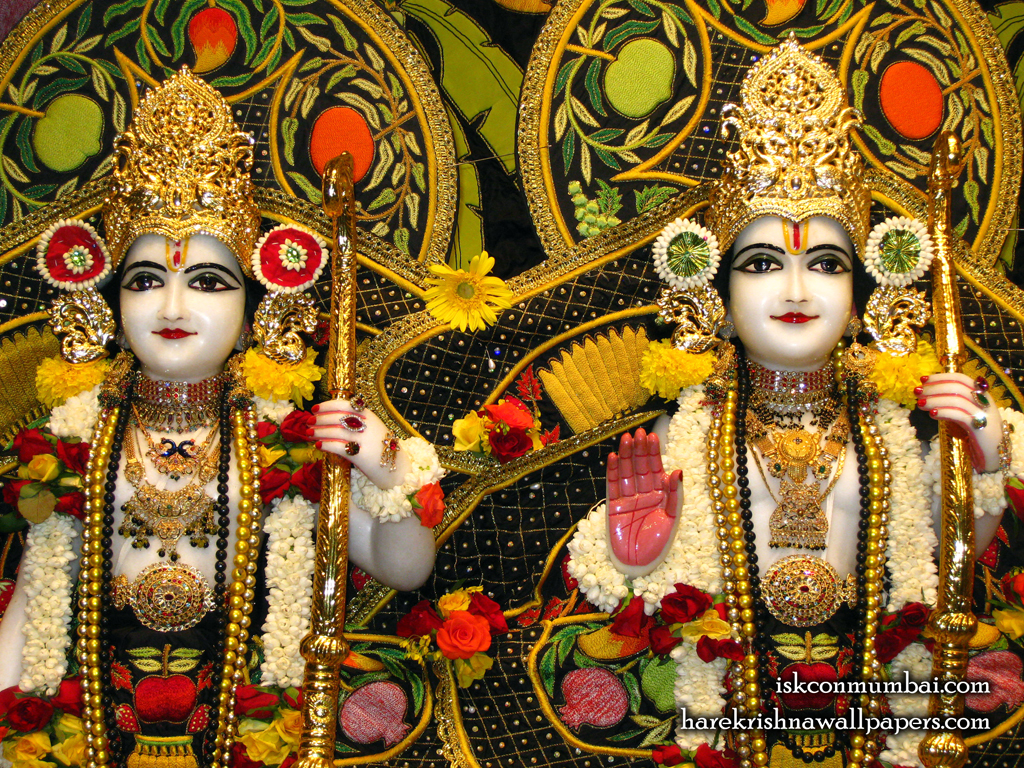Sri Sri Rama Laxman Close up Wallpaper (004) Size 1024x768 Download