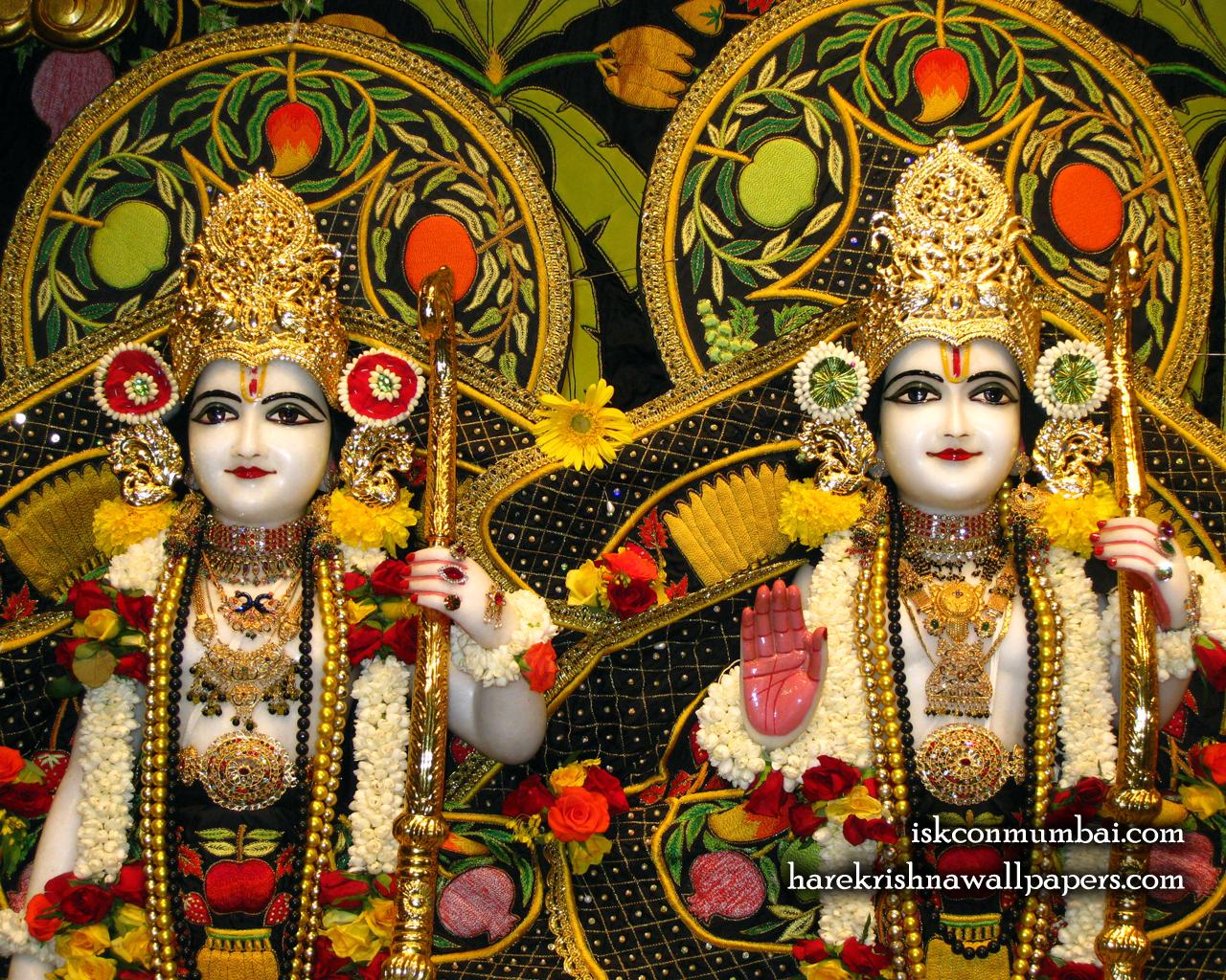 Sri Sri Rama Laxman Close up Wallpaper (004) Size 1280x1024 Download