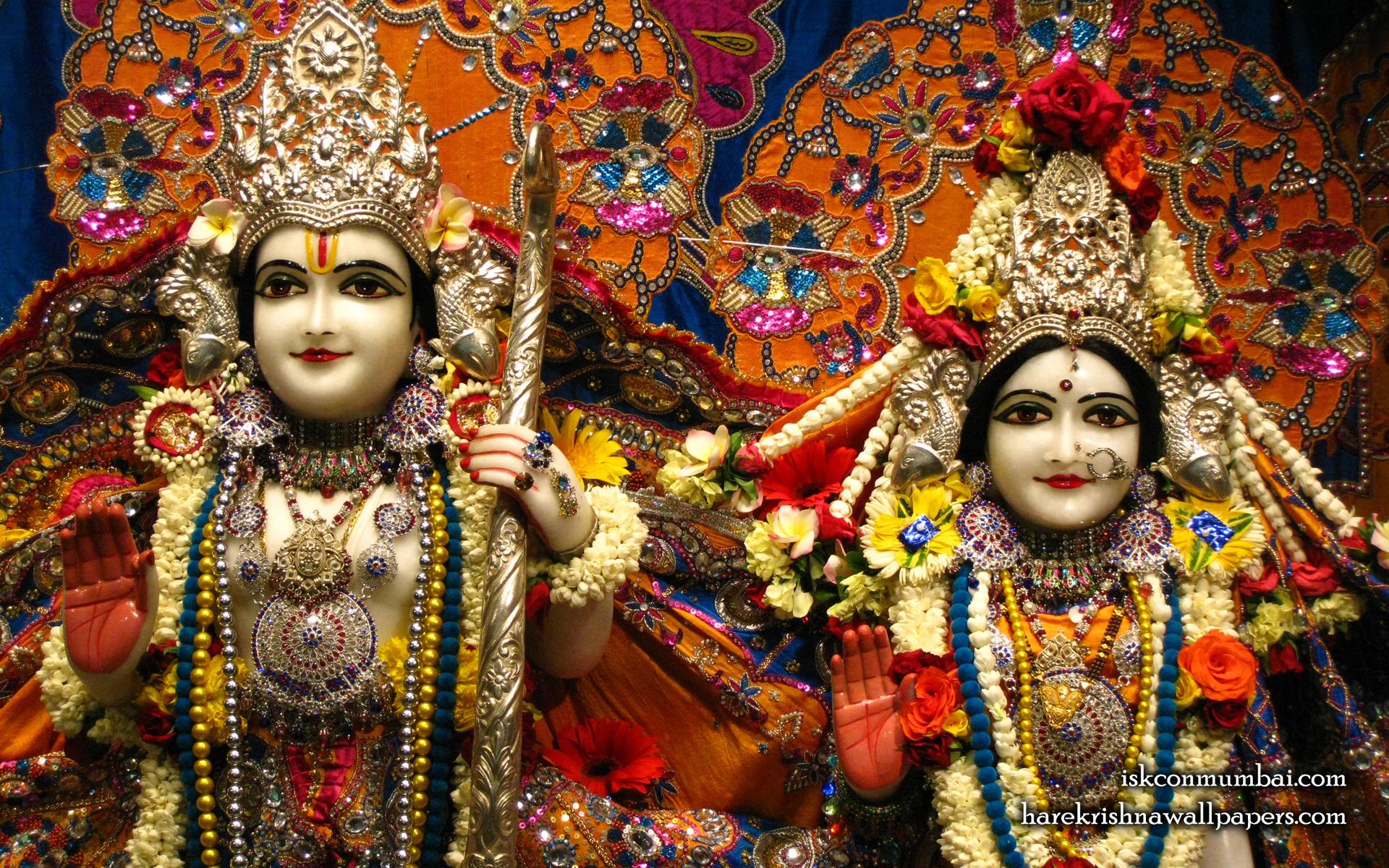 Sri Sri Sita Rama Close up Wallpaper (004) Size 1920x1200 Download