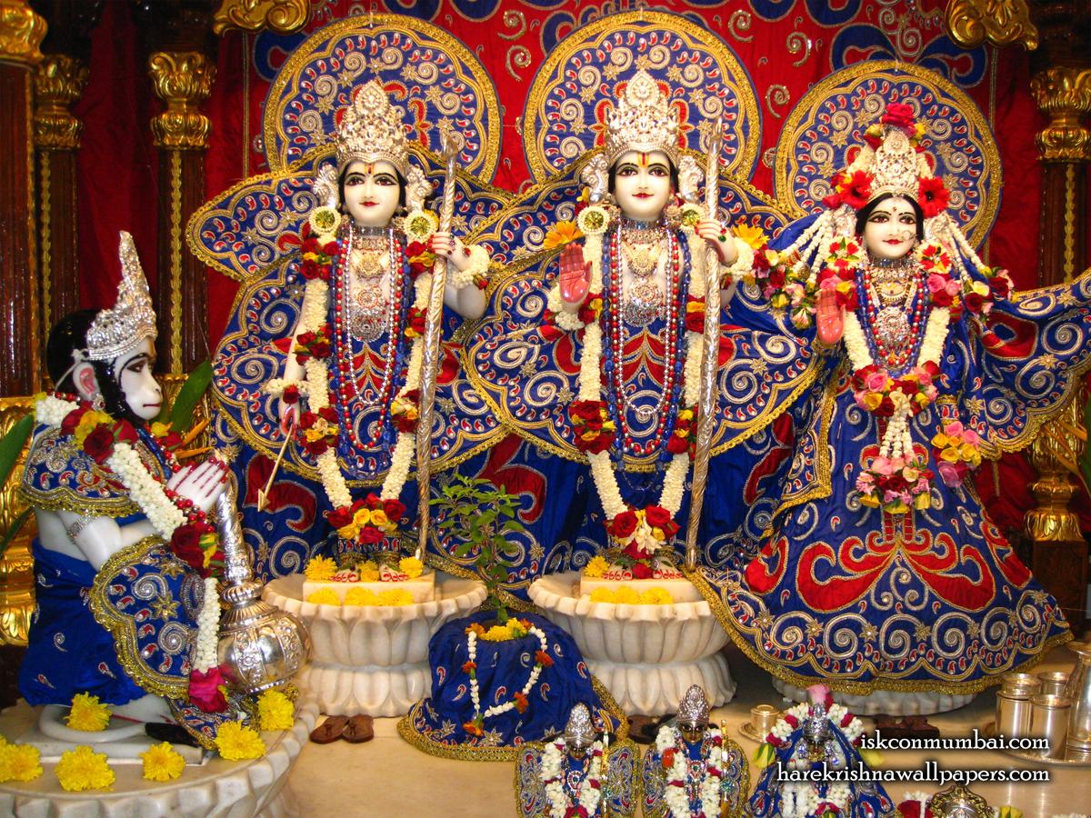 Sri Sri Sita Rama Laxman Hanuman Wallpaper (004) Size1200x900 Download