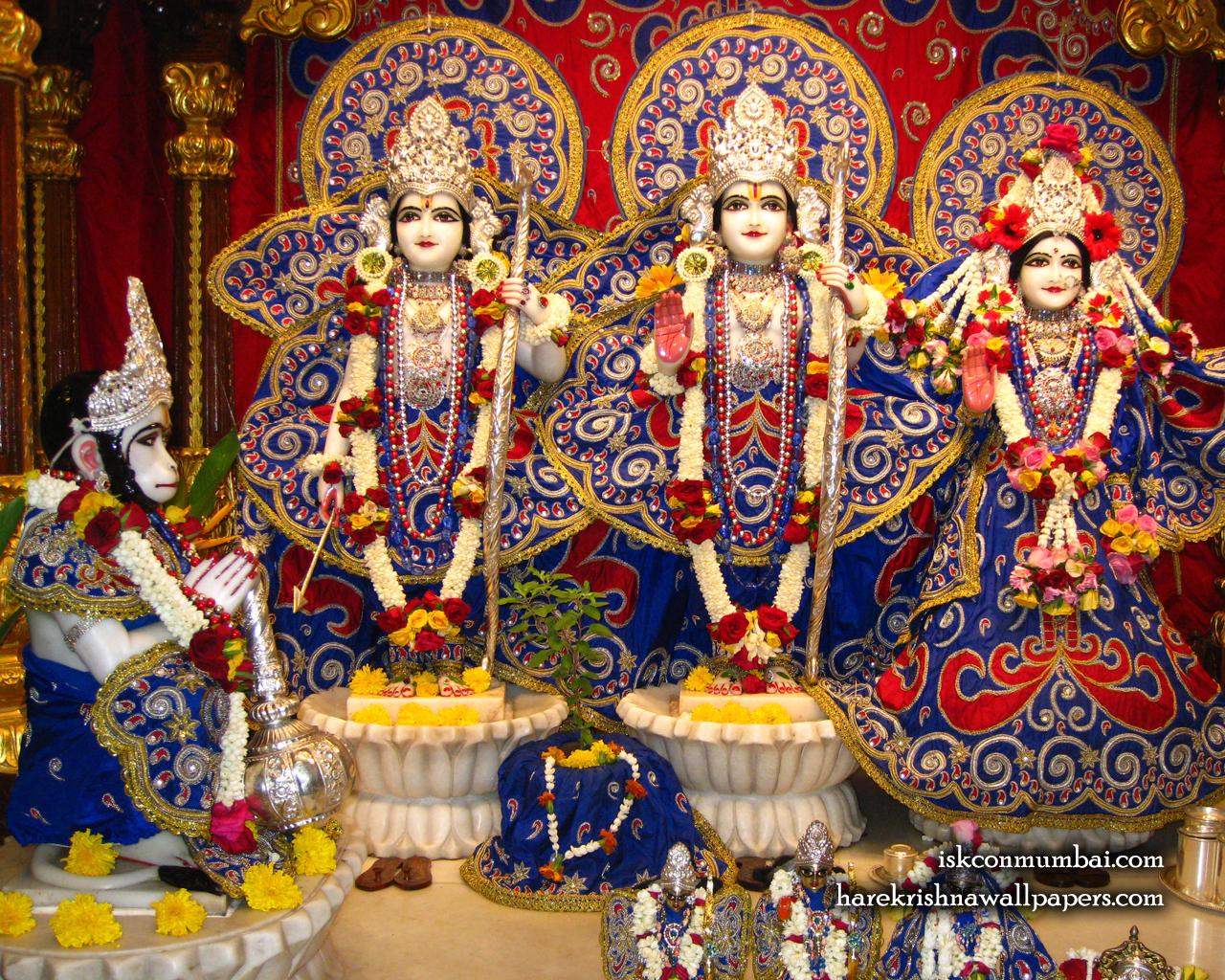 Sri Sri Sita Rama Laxman Hanuman Wallpaper (004) Size 1280x1024 Download