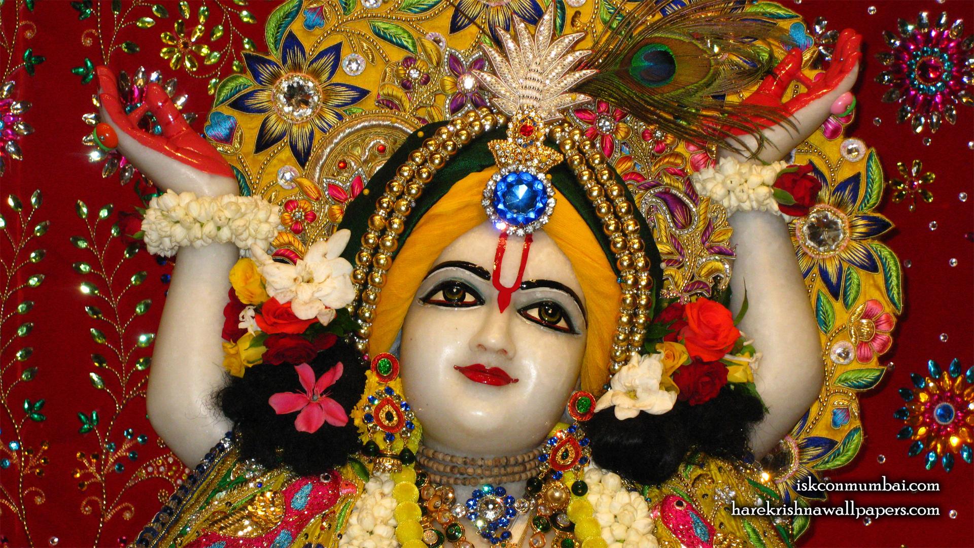 Sri Gauranga Face Wallpaper (005) Size 1920x1080 Download