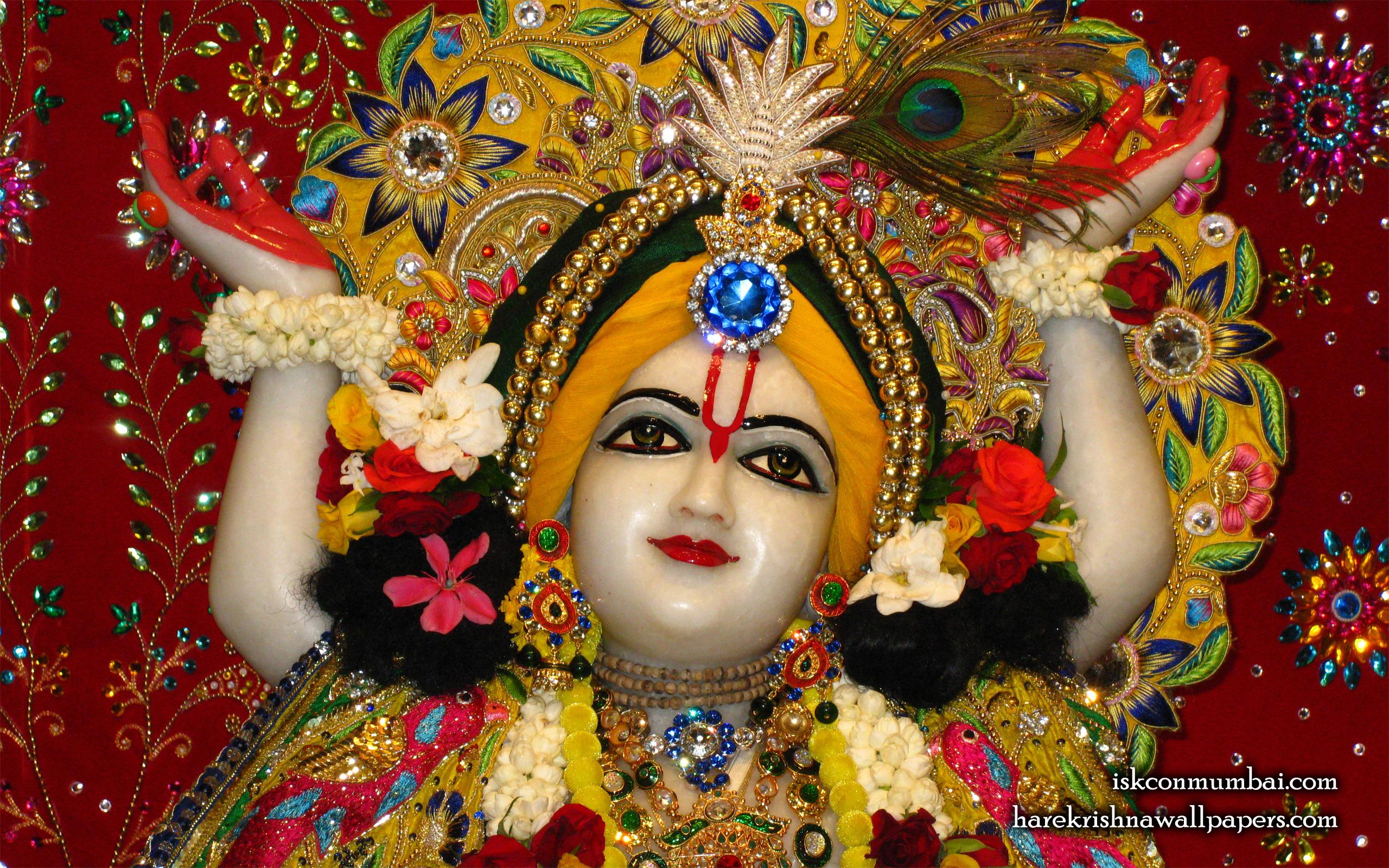 Sri Gauranga Face Wallpaper (005) Size 2560x1600 Download