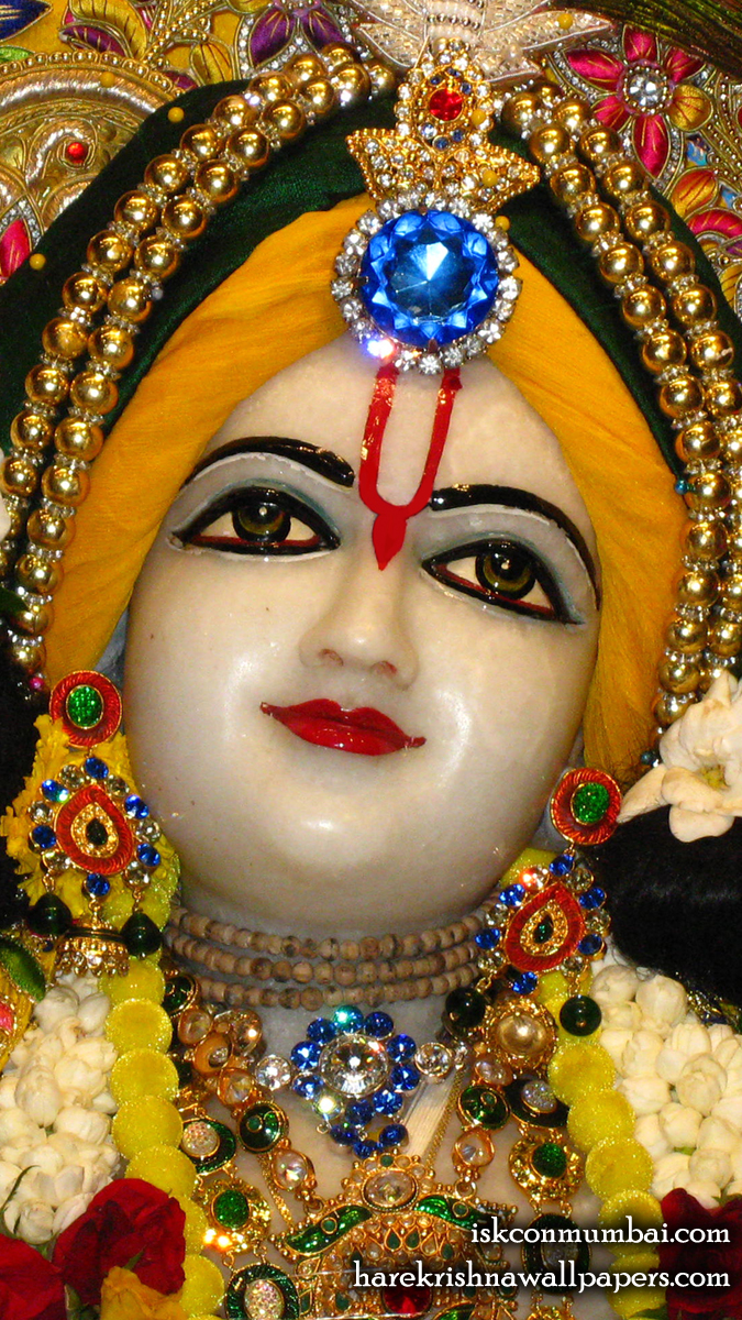 Sri Gauranga Face Wallpaper (005) Size 675x1200 Download