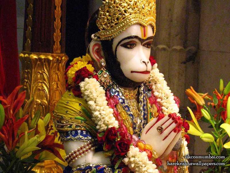 Sri Hanuman Face Wallpaper (005)