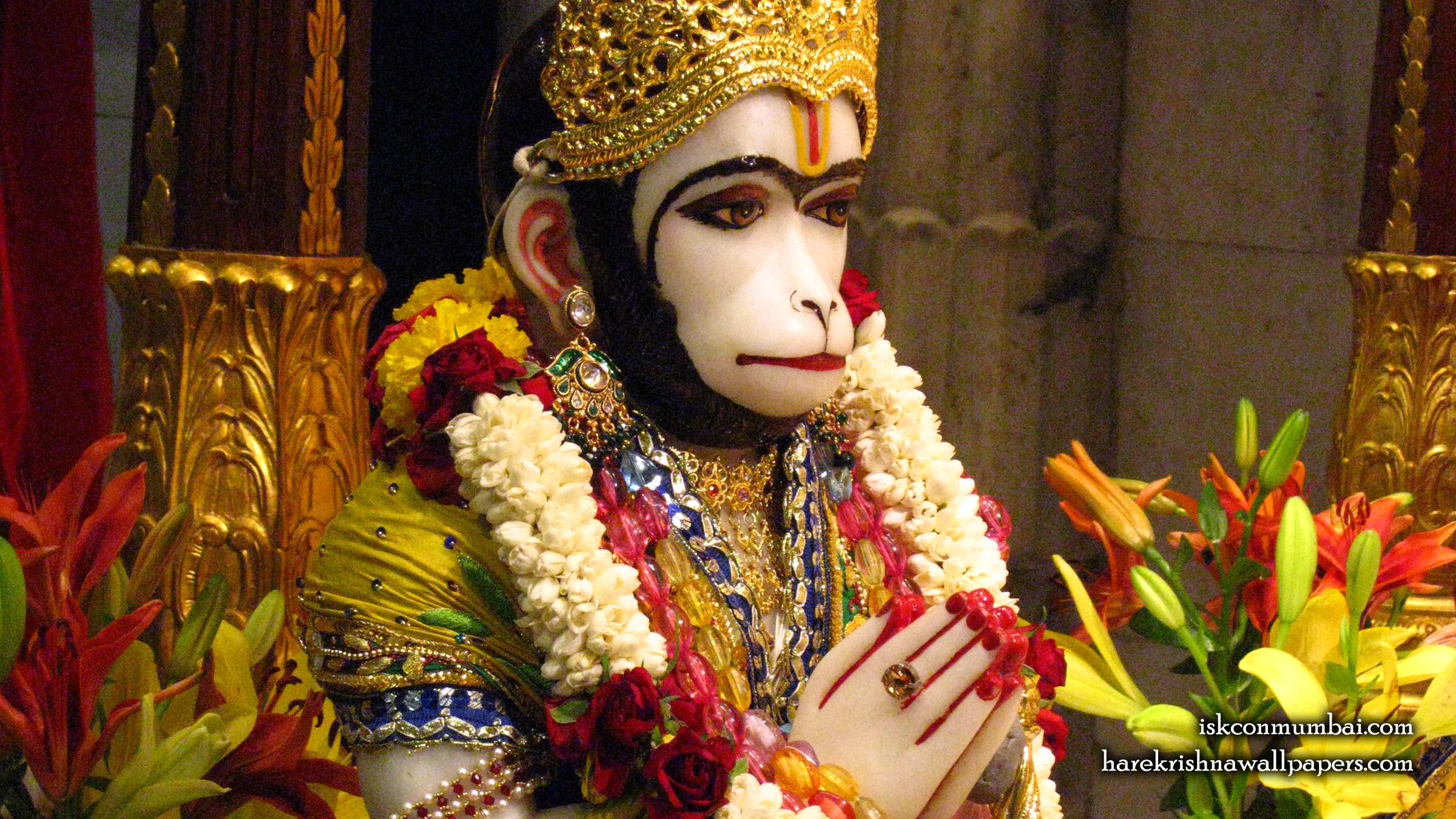 Sri Hanuman Face Wallpaper (005) Size 2400x1350 Download