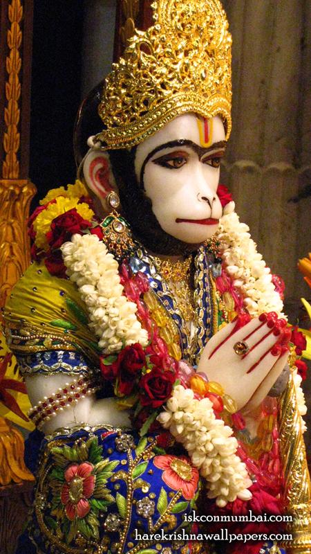 Sri Hanuman Face Wallpaper (005) Size 450x800 Download