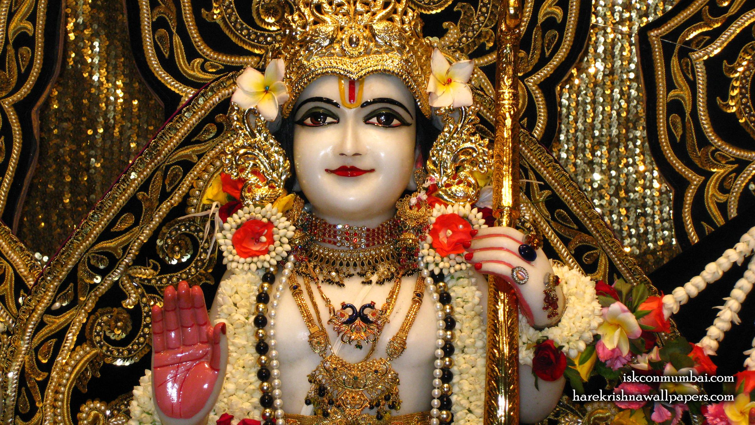 Sri Rama Close up Wallpaper (005) Size 2400x1350 Download