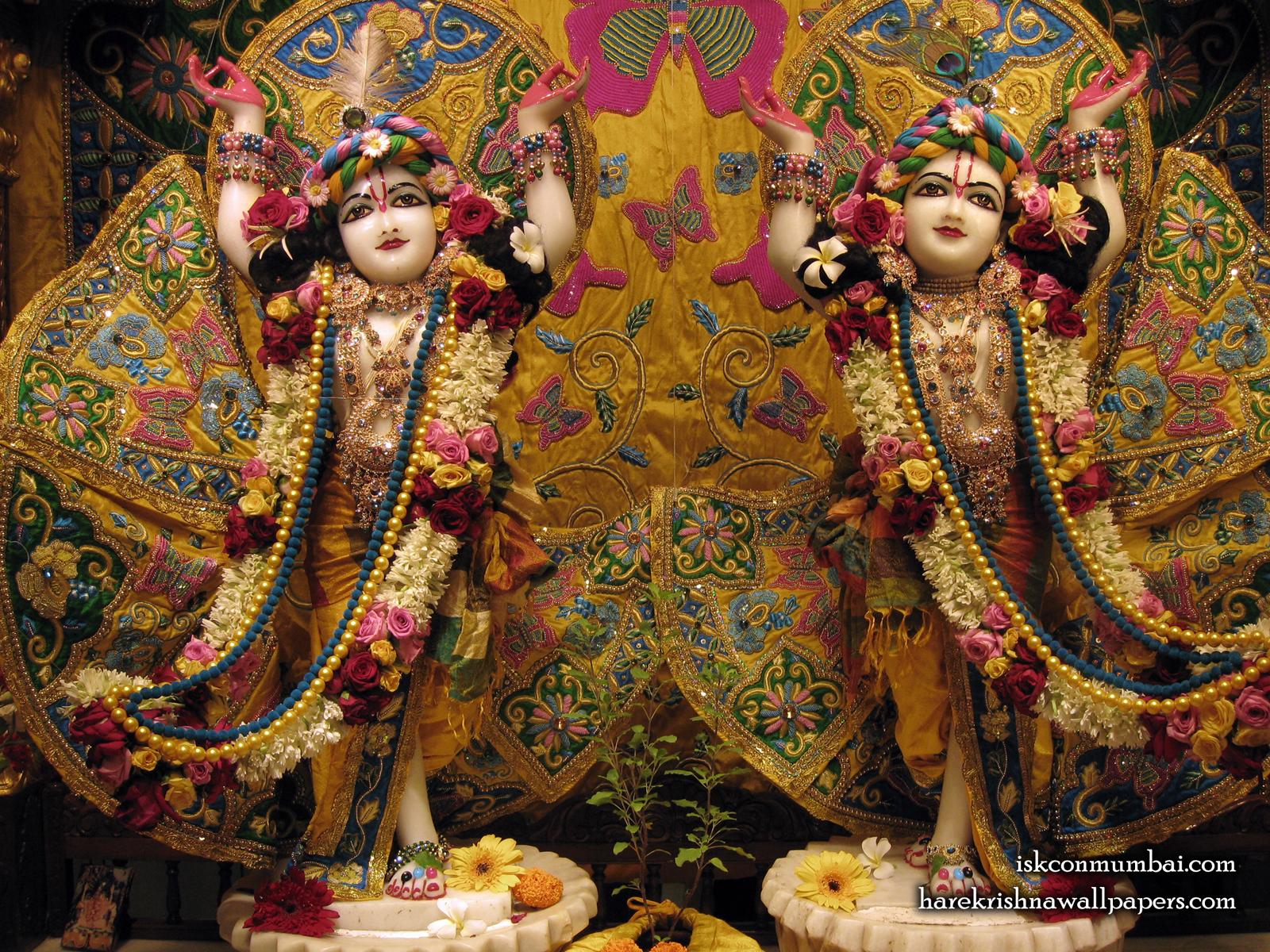 Sri Sri Gaura Nitai Wallpaper (005) Size1600x1200 Download