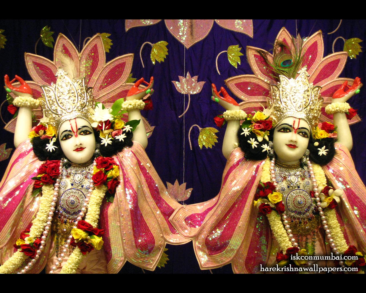 Sri Sri Gaura Nitai Close up Wallpaper (005) Size 1280x1024 Download