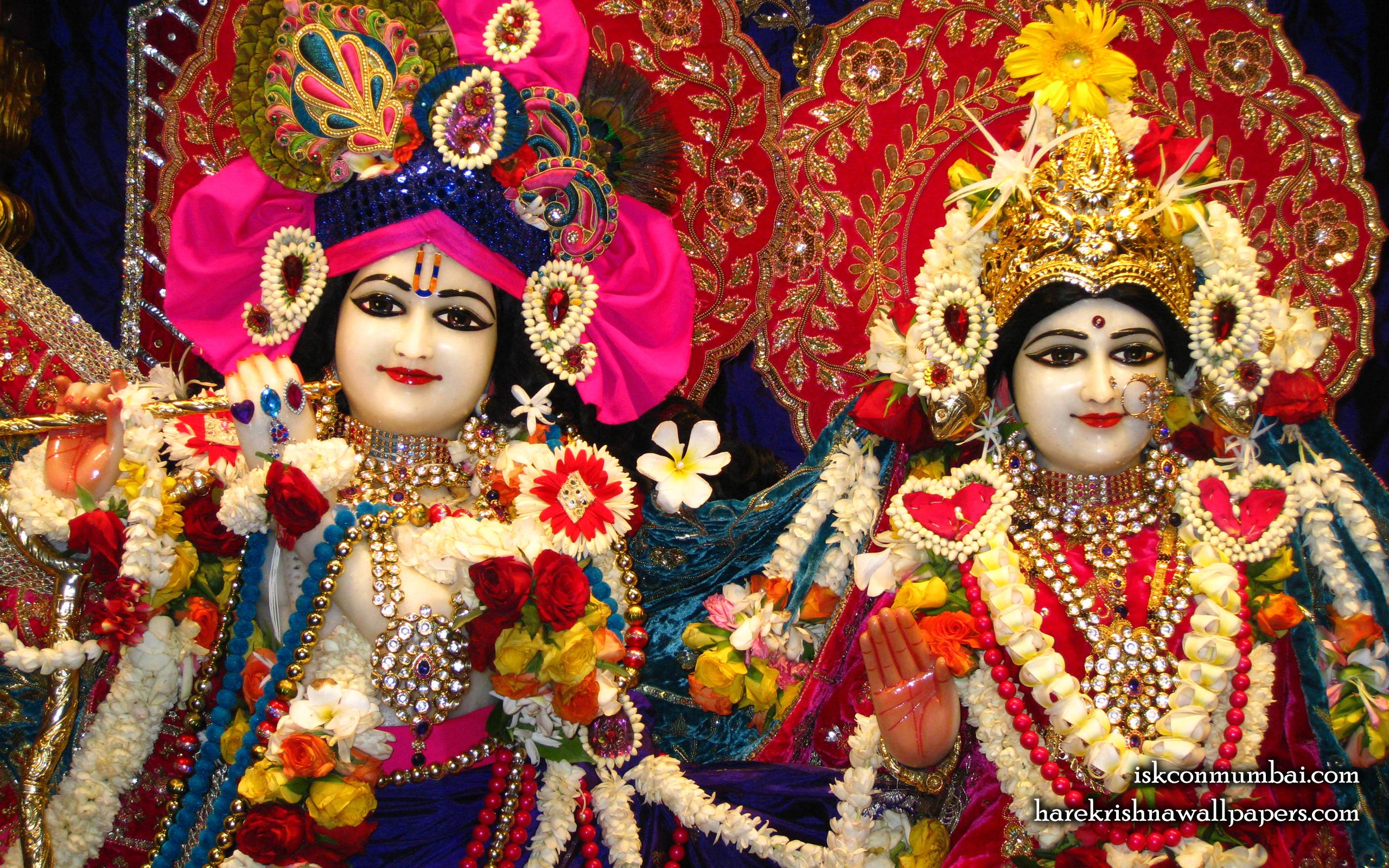 Sri Sri Radha Rasabihari Close up Wallpaper (005) Size 2560x1600 Download