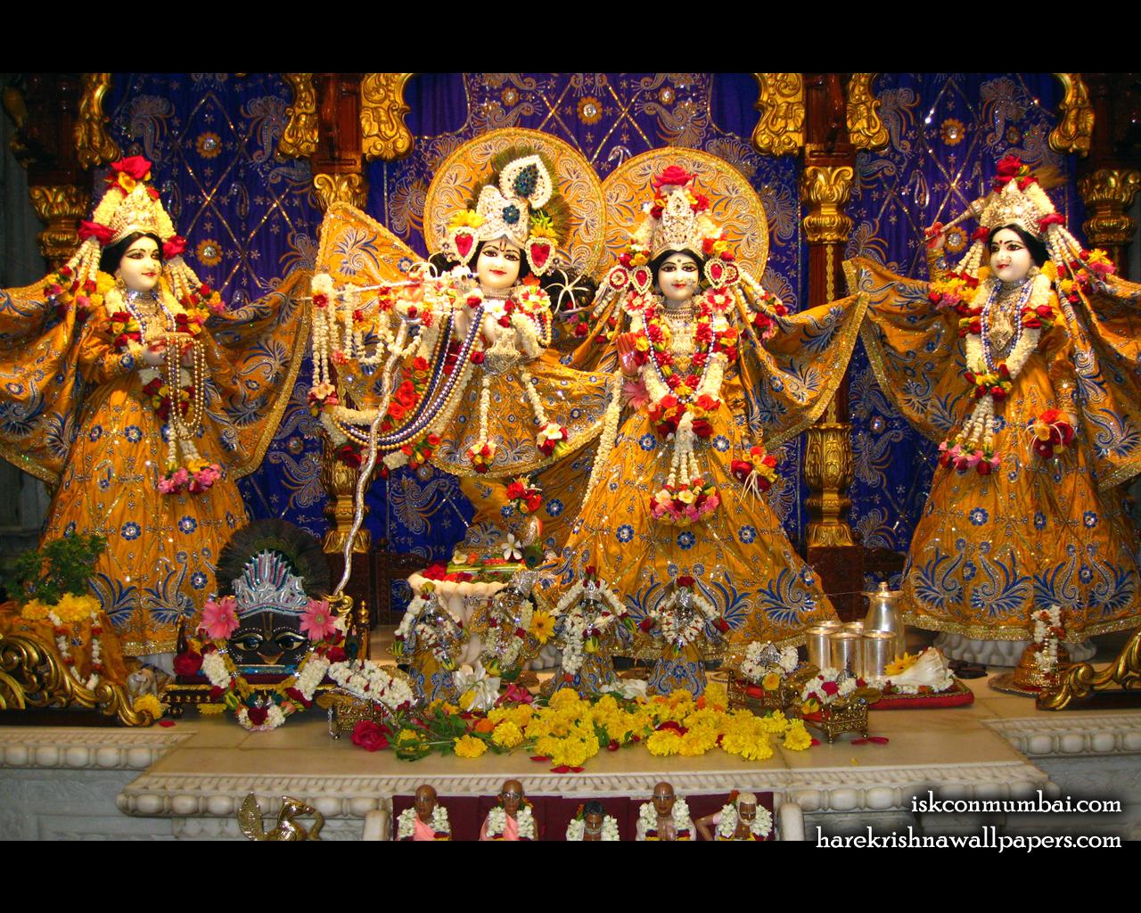 Sri Sri Radha Rasabihari Lalita Vishakha Wallpaper (005) Size 1280x1024 Download