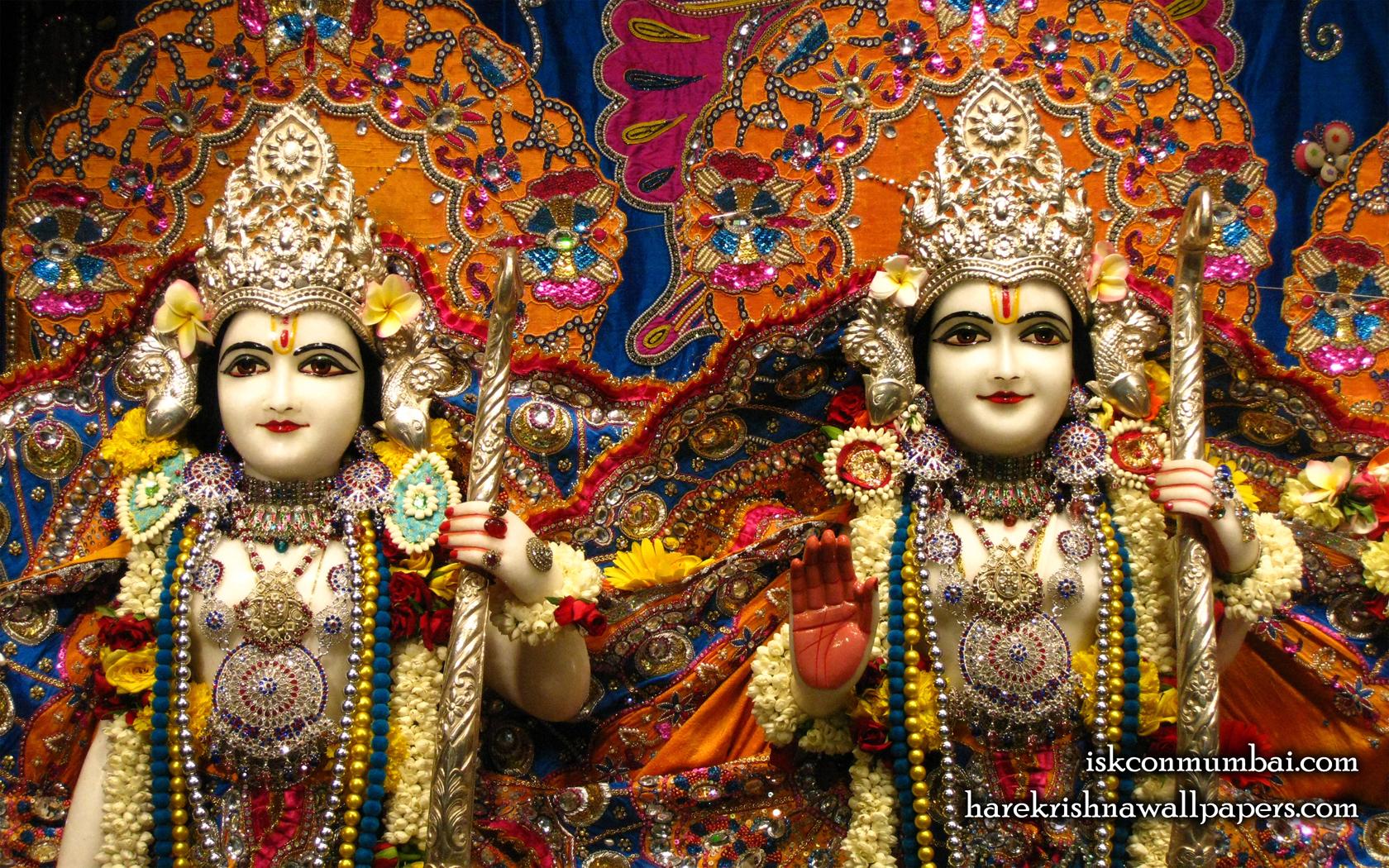 Sri Sri Rama Laxman Close up Wallpaper (005) Size 1680x1050 Download