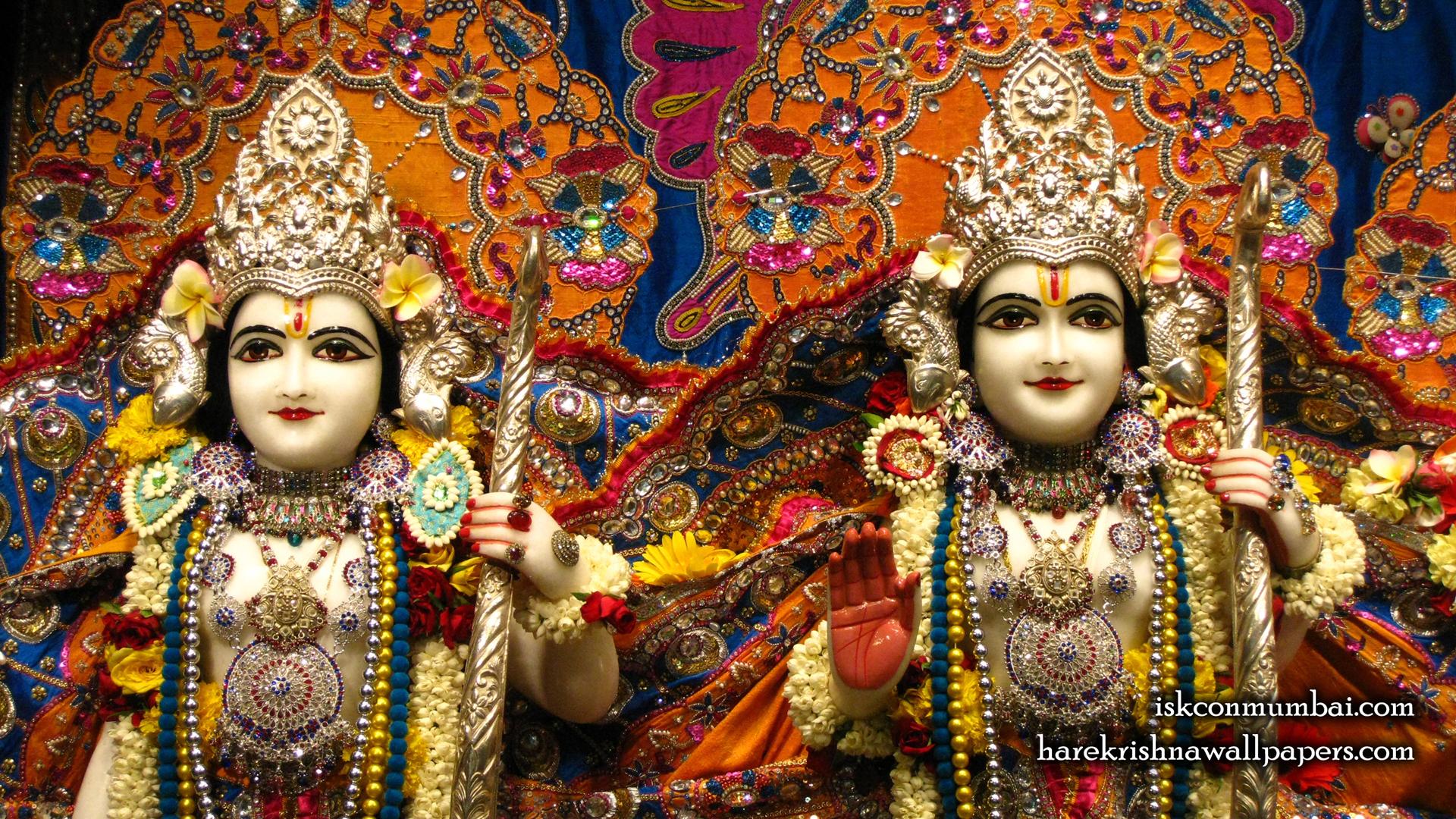 Sri Sri Rama Laxman Close up Wallpaper (005) Size 1920x1080 Download