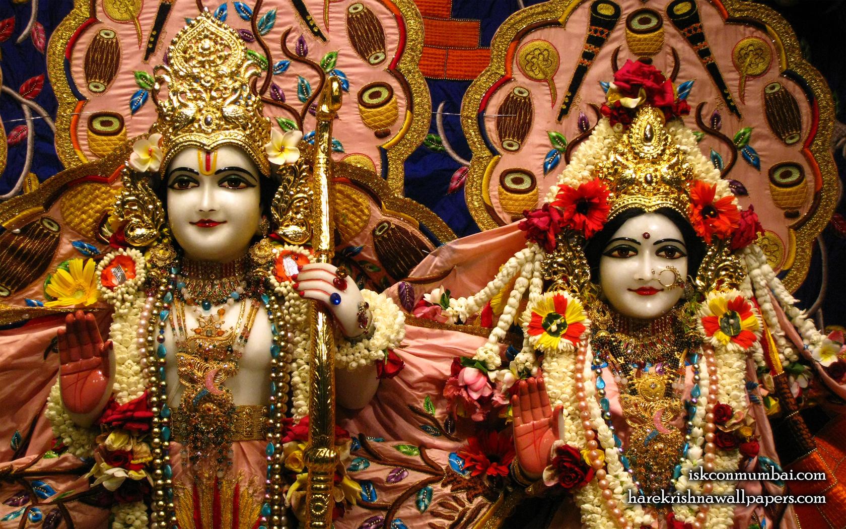 Sri Sri Sita Rama Close up Wallpaper (005) Size 1680x1050 Download