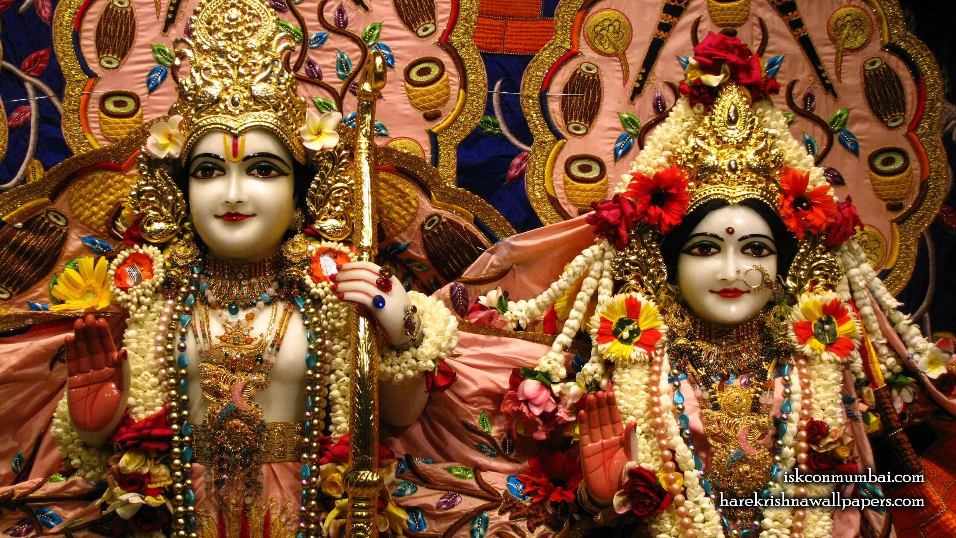 Sri Sri Sita Rama Close up Wallpaper (005) Size 1920x1080 Download