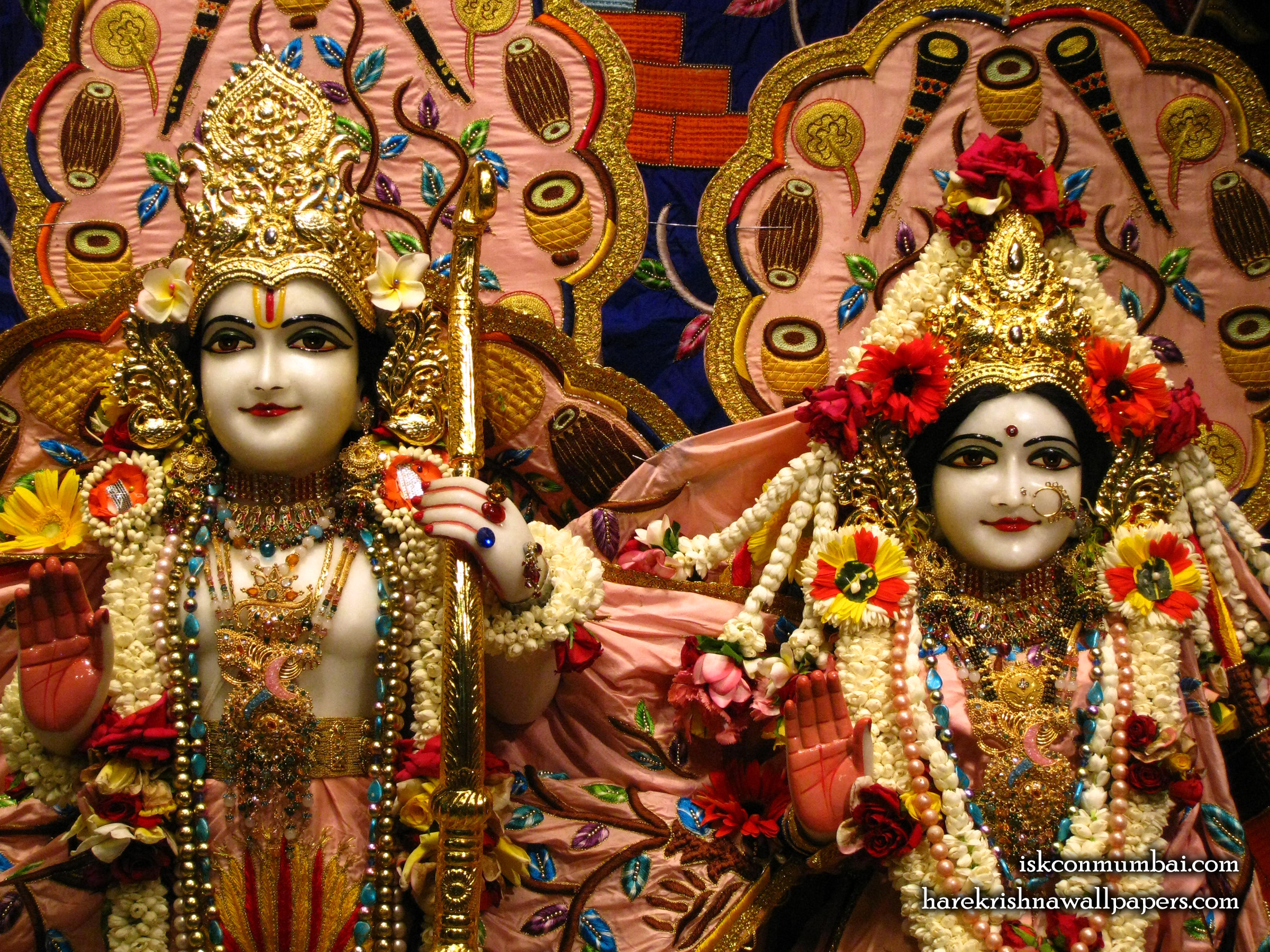 Sri Sri Sita Rama Close up Wallpaper (005) Size 2400x1800 Download
