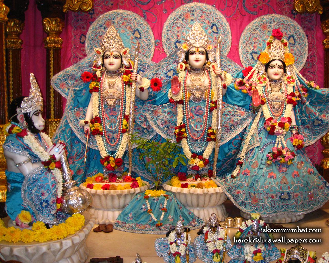 Sri Sri Sita Rama Laxman Hanuman Wallpaper (005) Size 1280x1024 Download