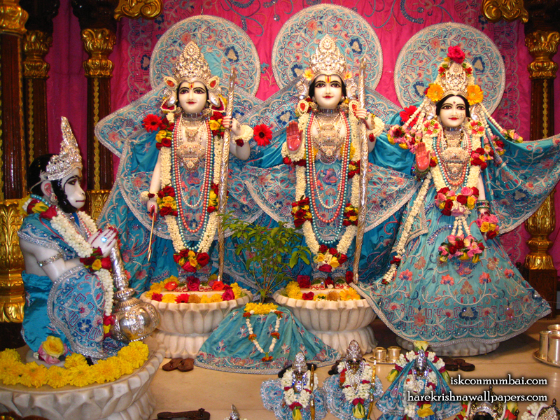 Sri Sri Sita Rama Laxman Hanuman Wallpaper (005) Size 800x600 Download